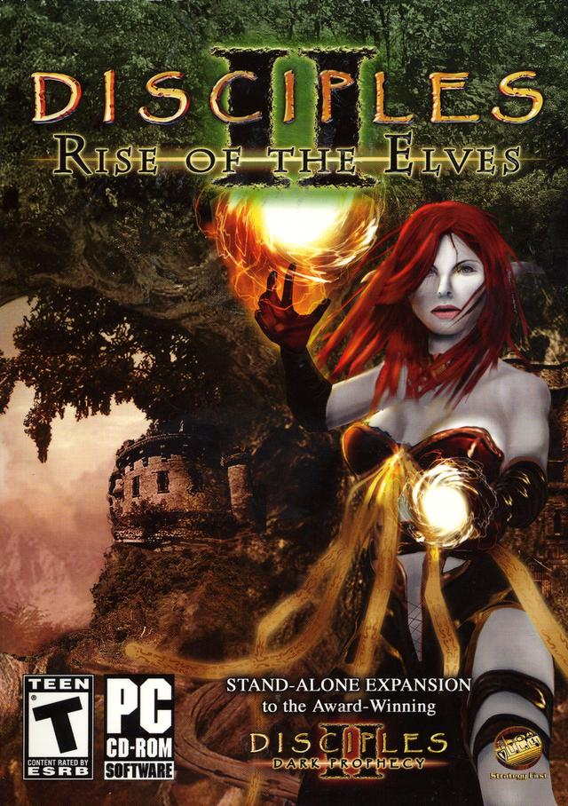 disciples ii  rise of the elves windows  linux game