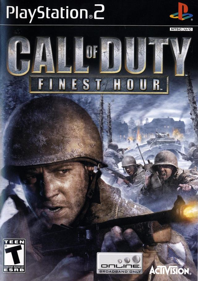 Call of Duty: Finest Hour Xbox Ps3 Ps4 Pc jtag rgh dvd iso Xbox360 Wii Nintendo Mac Linux