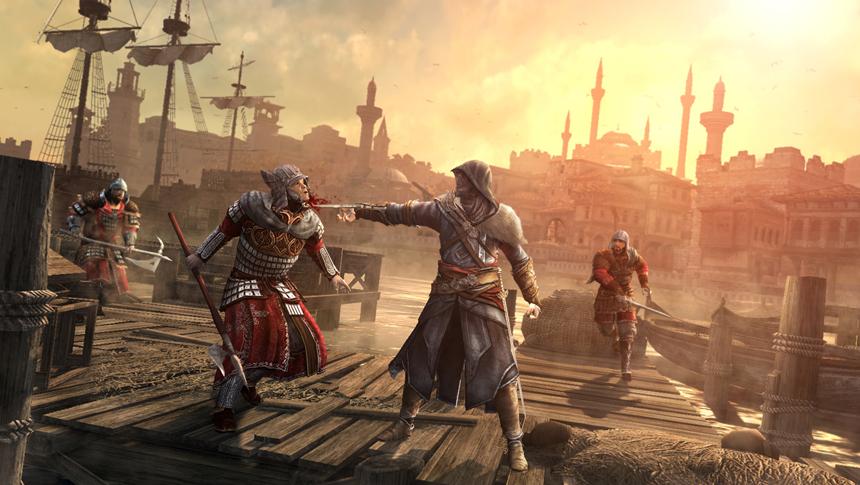 Hookblade Combat Image Assassin S Creed Revelations Mod Db