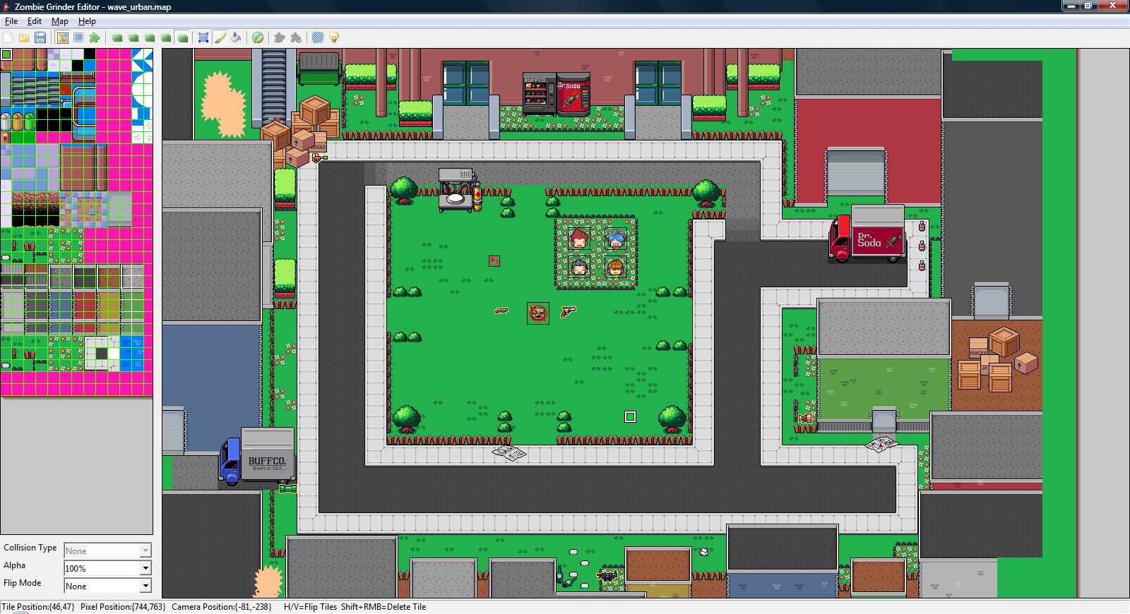 zombie grinder level editor image mod db