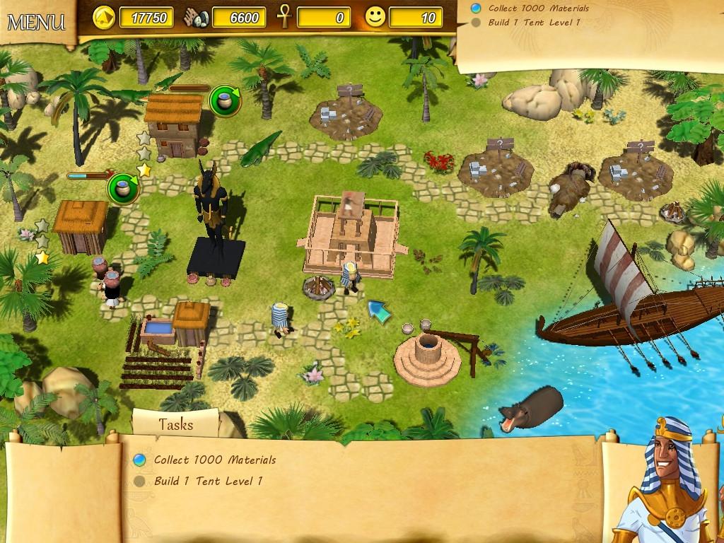pc game pharaoh upgrades