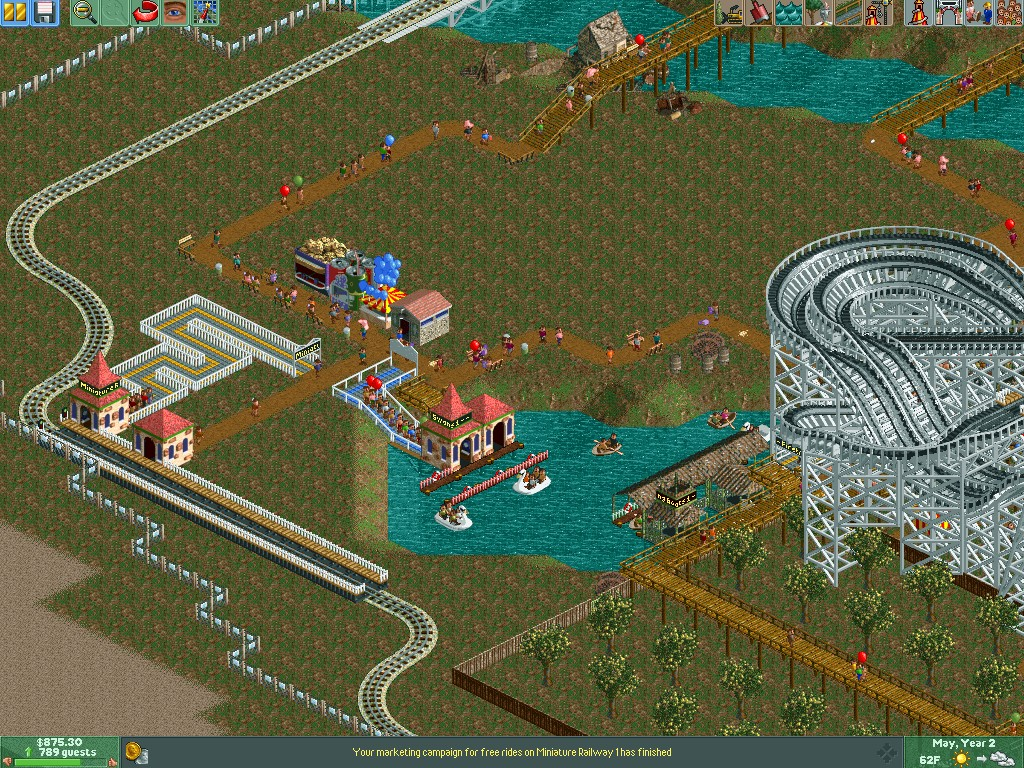 Images - RollerCoaster Tycoon 2 - Mod DB