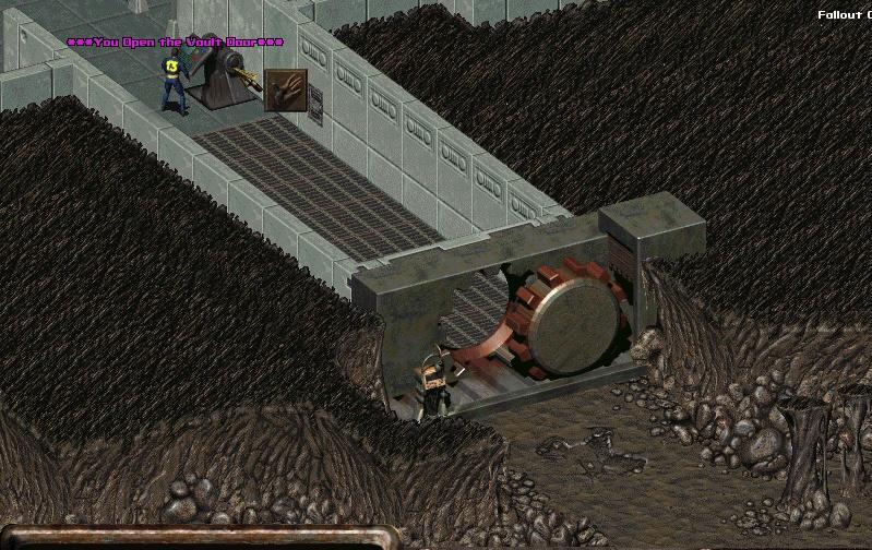 Fallout Vault Door the new open/closable vault door for vaults image - fallout online