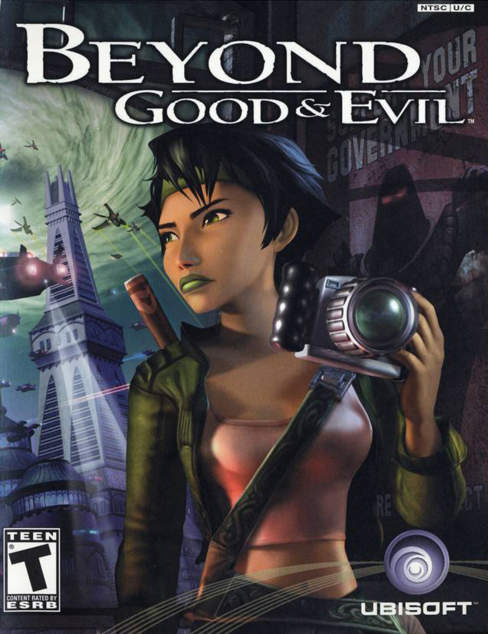Beyond Good And Evil Windows X360 Xbox Ps2 Gcn Game