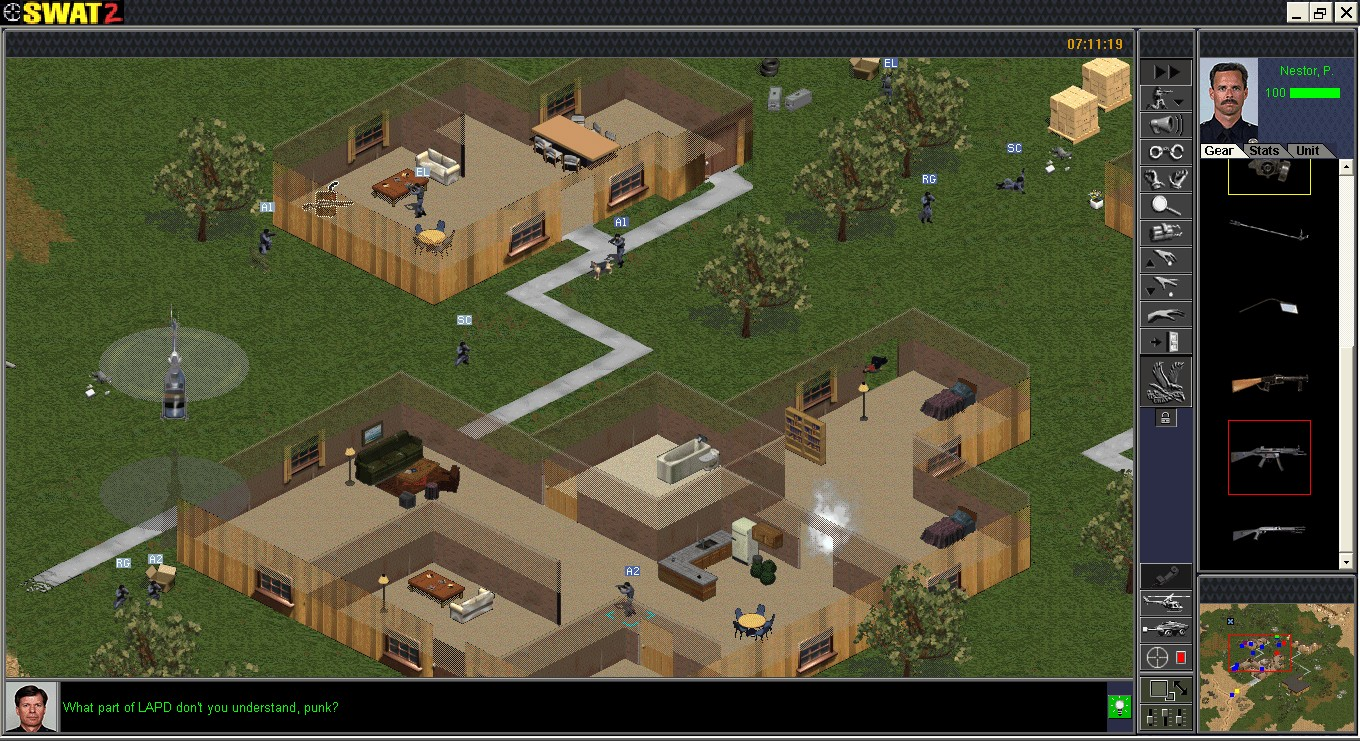 Police quest: swat 2 download (1998 strategy game).