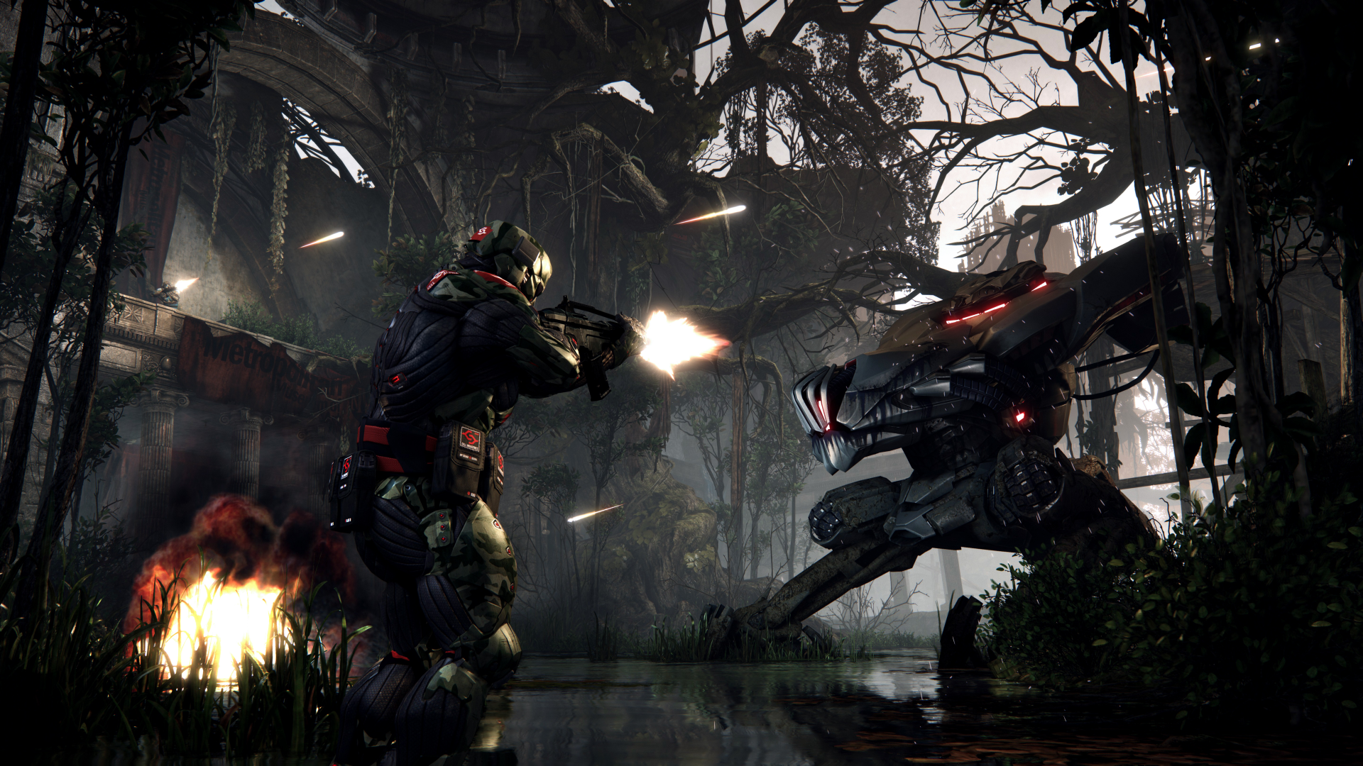 Crysis 3 - Ceph power! - YouTube