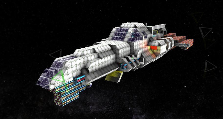 space ship on starmade -#main