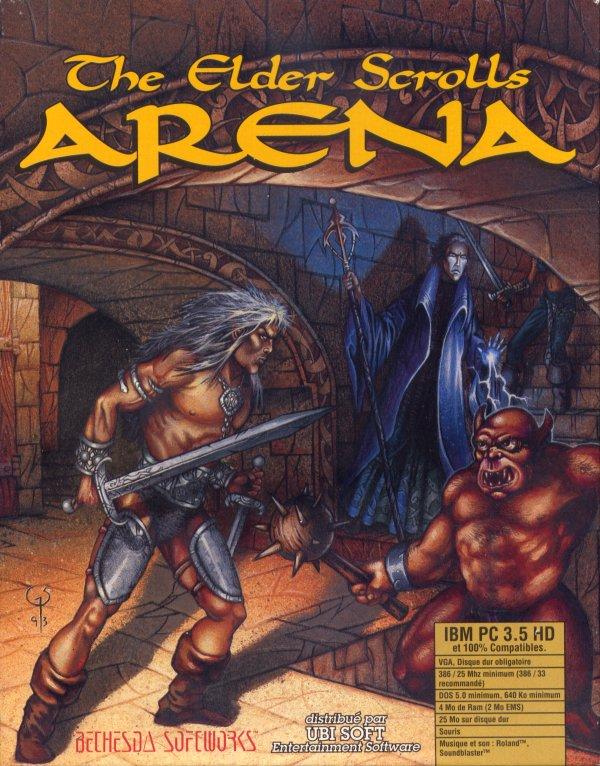 Elder Scrolls: Arena Windows, DOS game
