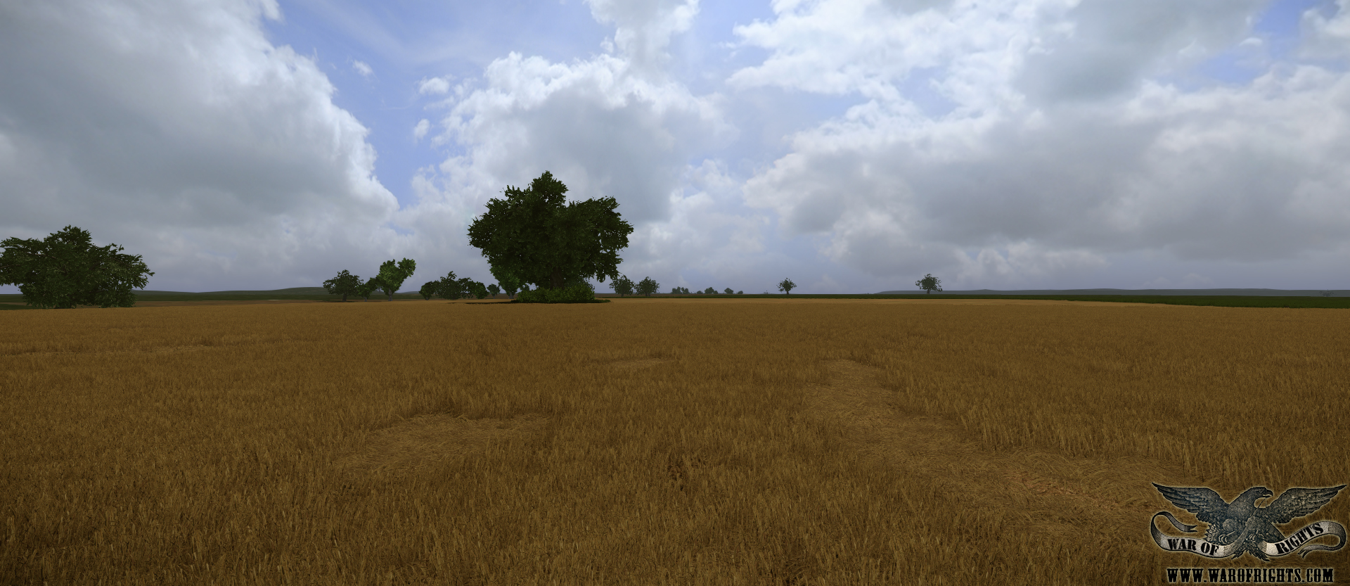 Harvested wheat field image - War of Rights - Mod DB