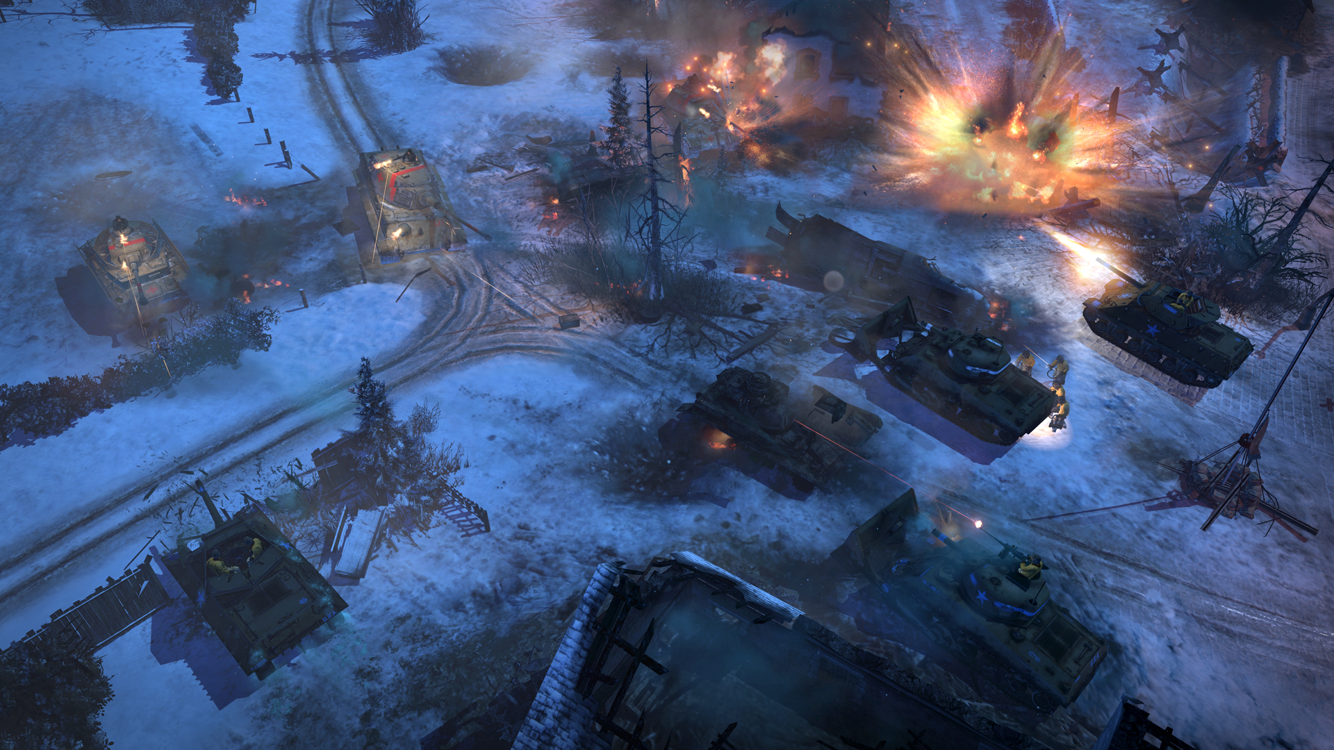 AA Screenshot 3 - Company of Heroes 2: Ardennes Assault image