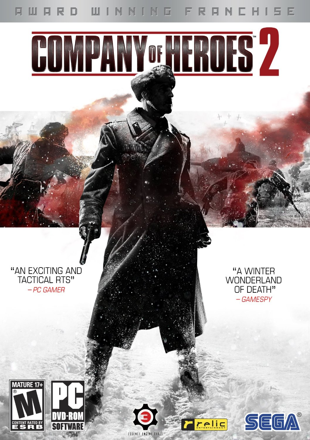 coh2 box - Company of Heroes 2 Windows game