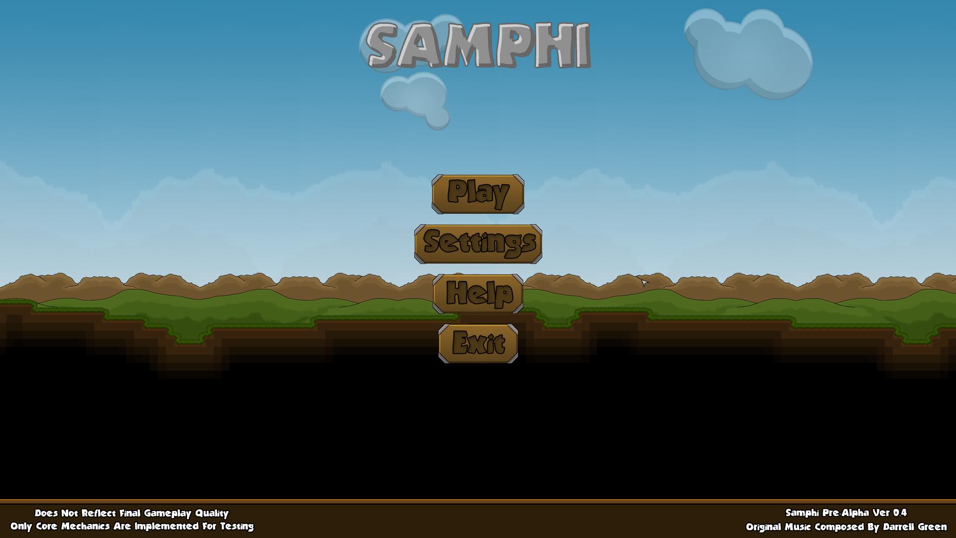 Main Menu Design Image Samphi Mod DB - Game menu design
