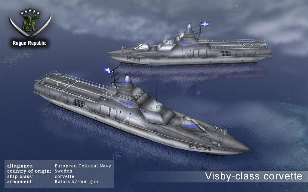 الكورفيت الشبحي السويدي Visby ! Visby001