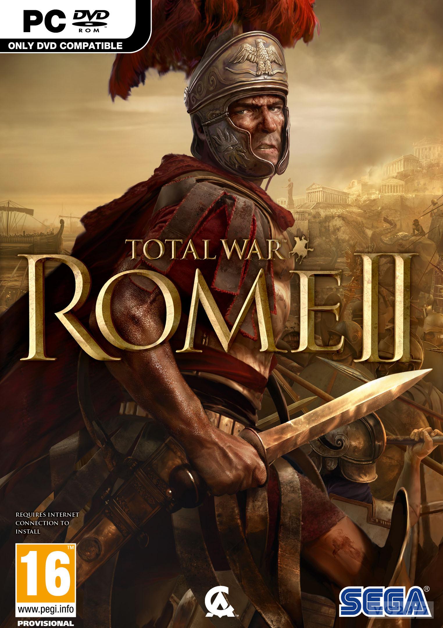 Total War: Rome II pc dvd-ის სურათის შედეგი