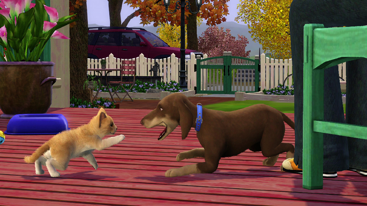 Sims 3 pets mod softcore clip