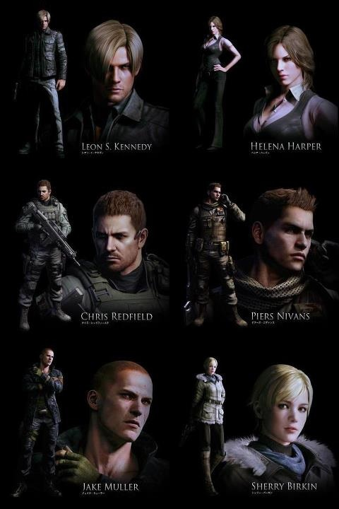 Resident Evil 6 Characters Image Mod Db