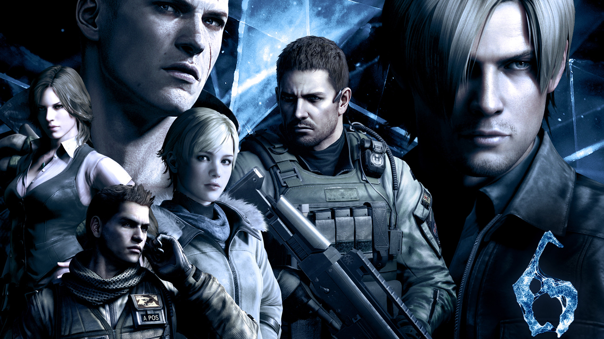 Add Media Report RSS Resident Evil 6 Wallpaper View Original