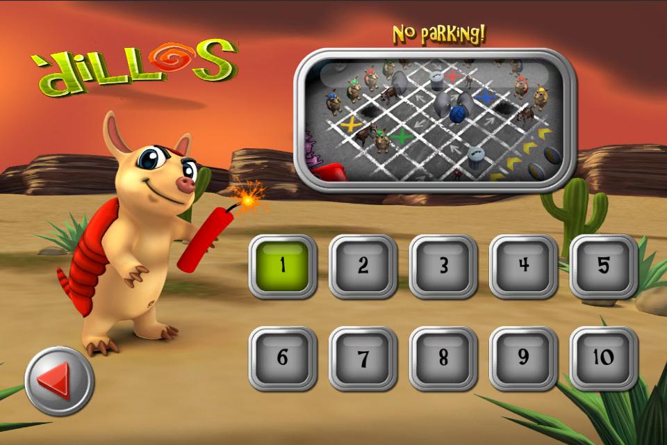 Main Menu level select image - 'dillos - Mod DB