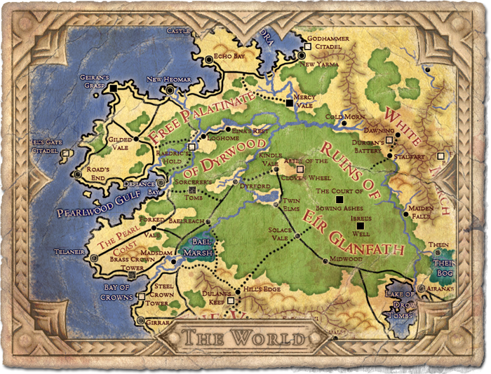 Pillars Of Eternity World Map Complete.World Map Image Pillars Of Eternity Mod Db