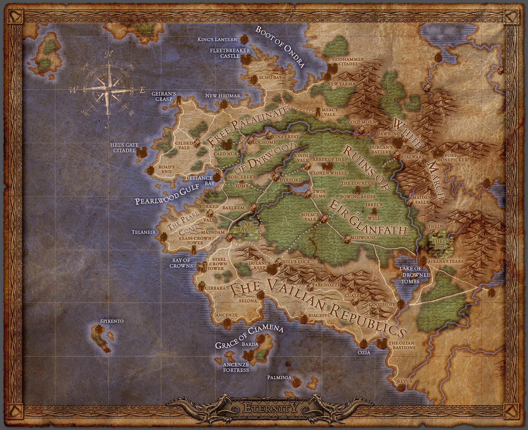 Map image Pillars of Eternity Mod DB