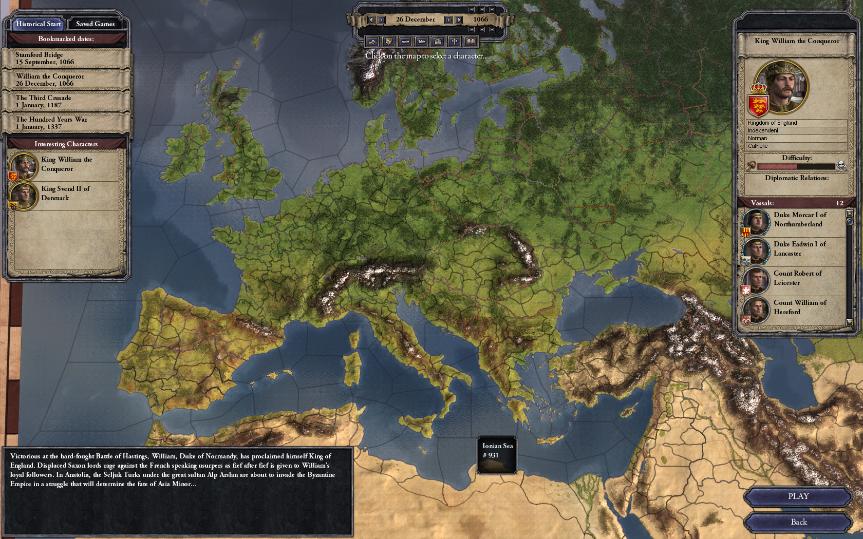 Crusader Kings 2 Review - A Politically Driven Feast