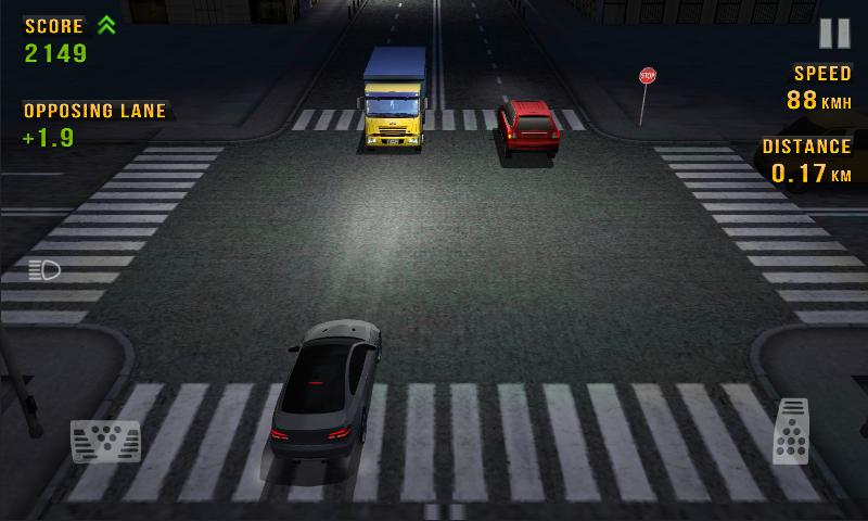 Znalezione obrazy dla zapytania traffic racer night city