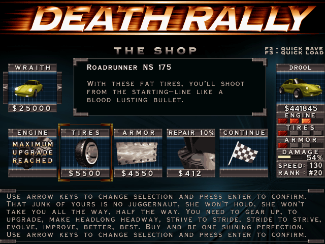 Death Rally and Their Careers to The Limit Come to Android