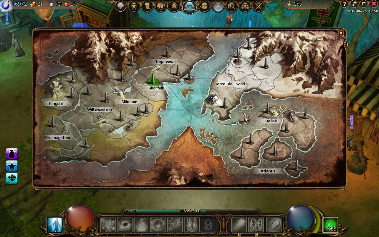 Map of world image drakensang online mod db report rss map of world view original gumiabroncs Gallery