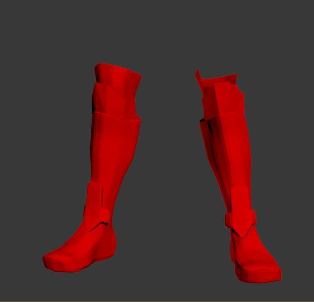 Heathcliff Shoes Wip 01 Image Sword Art Online Mod Db