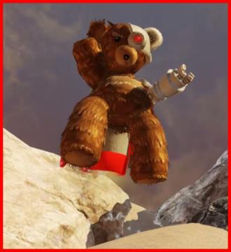 Cyborg Teddy