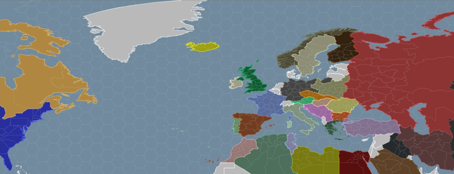 European Theatre Map image - World War II: Nations - Mod DB