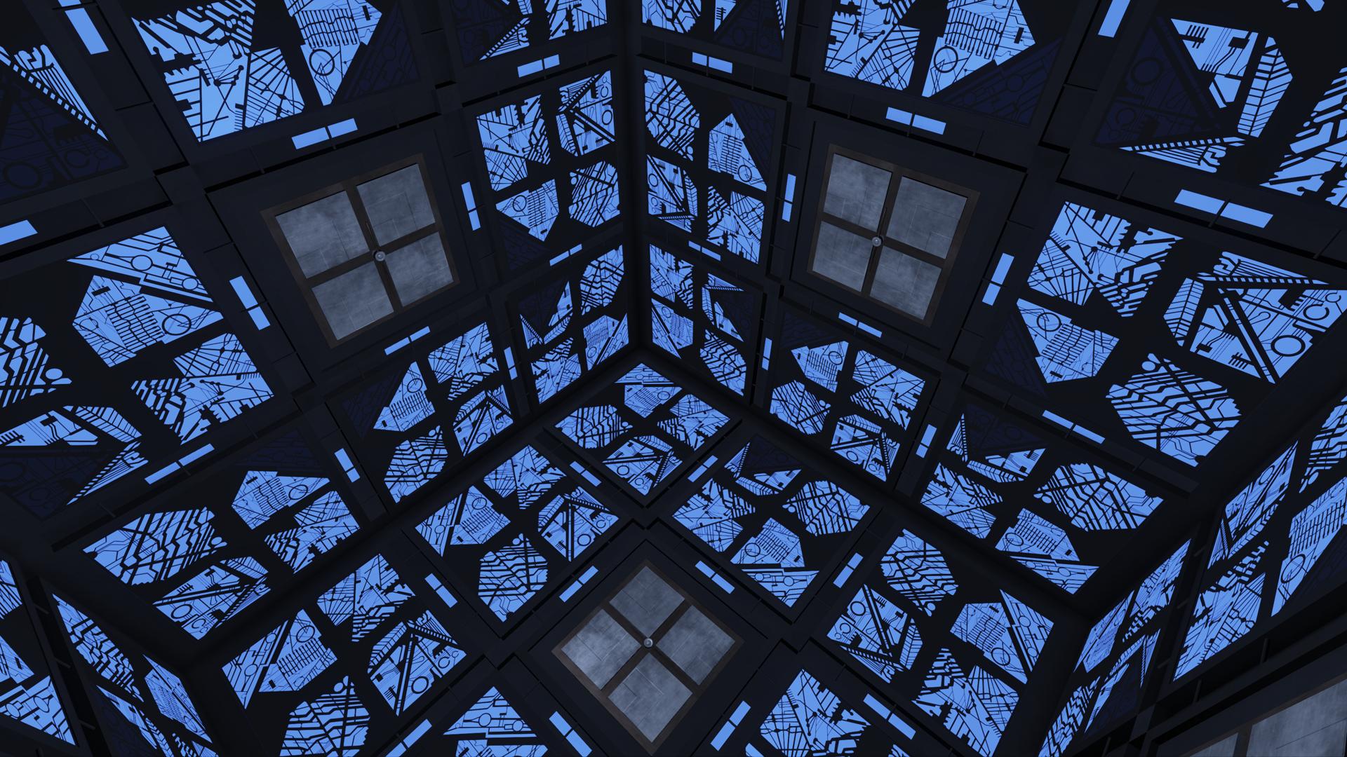 blue cube image cooperative unreal box escape cube