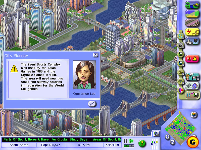 an overview of the computer software and the simcity video game developed by maxis Wright converted the editor into a stand-alone product—arguably more software toy than game game—now renamed simcity developed primarily by maxis.