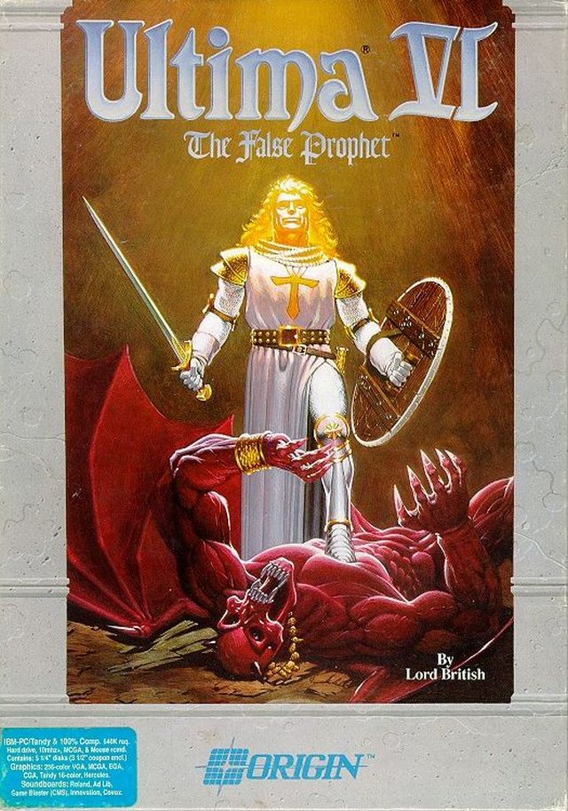 ultima vi  the false prophet dos  snes game