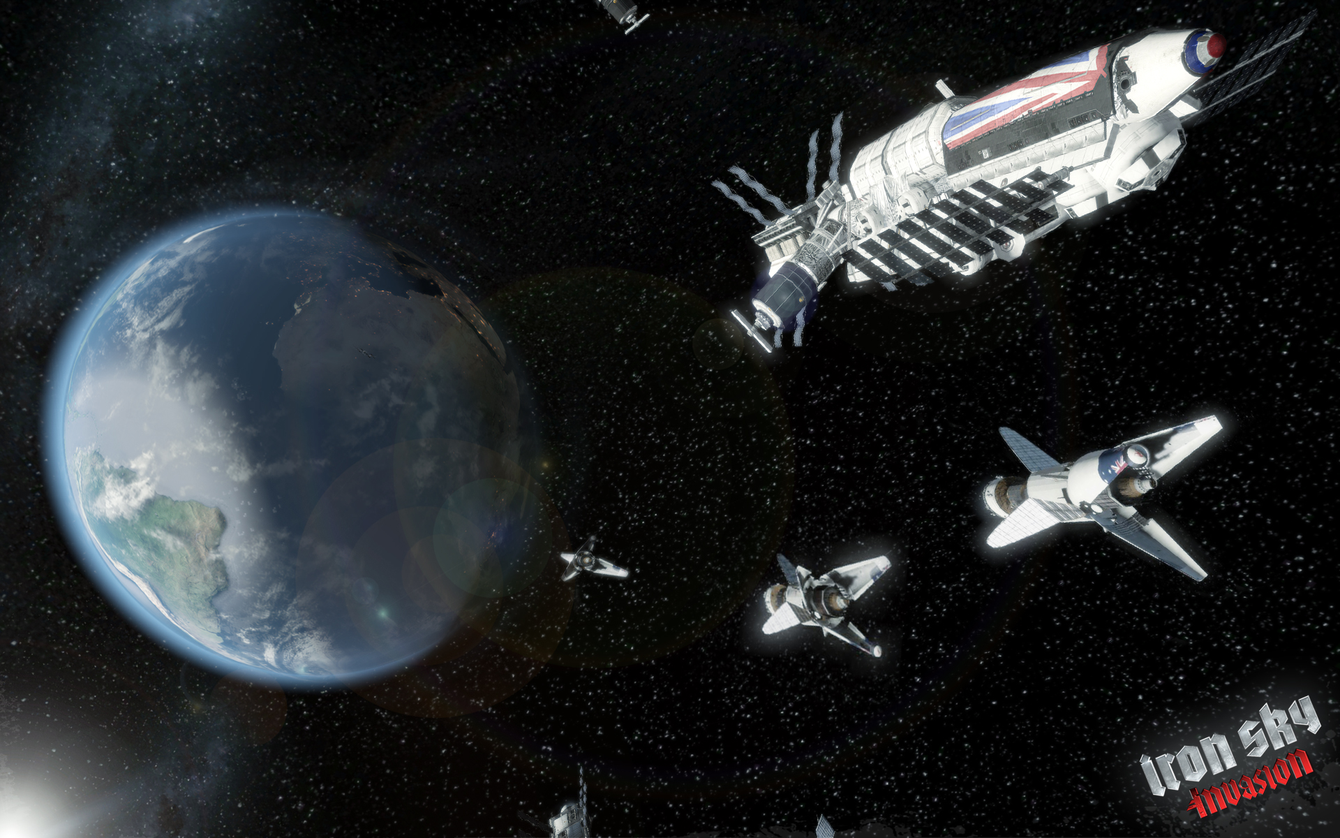 Iron sky invasion image mod db for Jobs in outer space