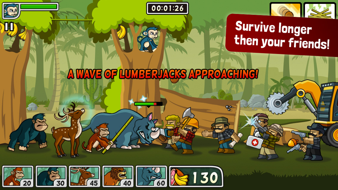 Strategy game for ipad like Plant vs Zombies