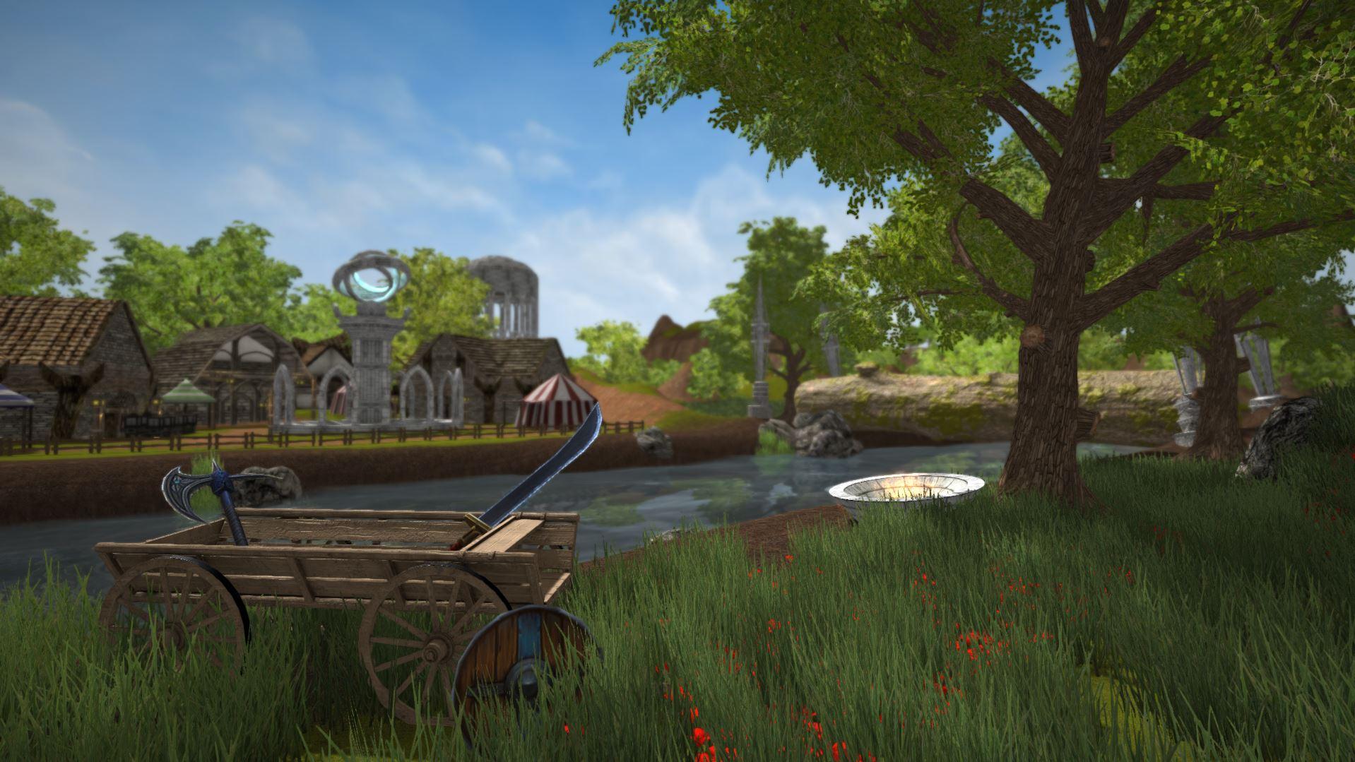 Artuax village image - Age of Aincrad (AoA) - Mod DB