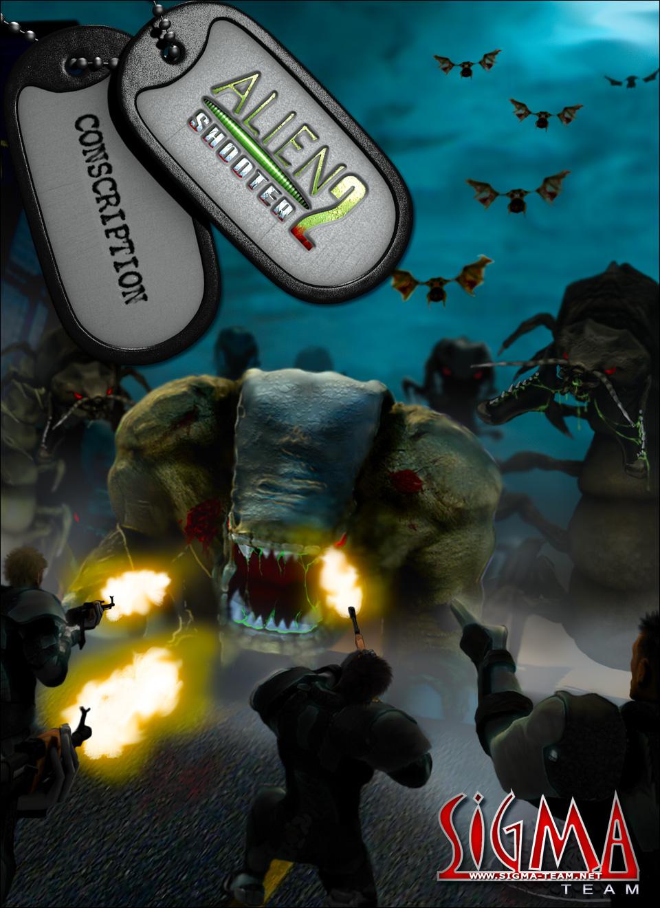 box2 - Alien Shooter 2: Conscription PC Full Español Mega - Juegos [Descarga]