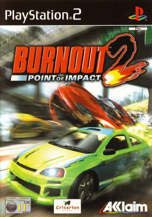 Car Driving Games >> Burnout 2: Point of Impact XBOX, PS2 game - Mod DB