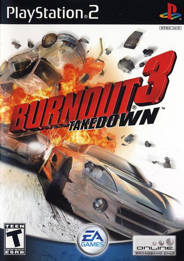 Burnout  Takedown Car List