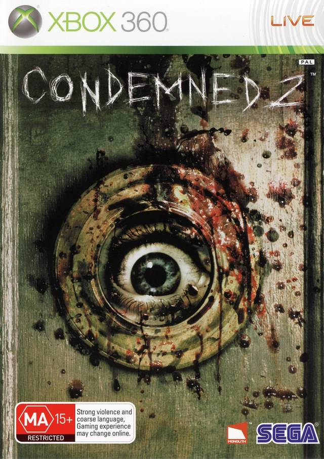 Condemned 2  Bloodshot X360  Ps3 Game
