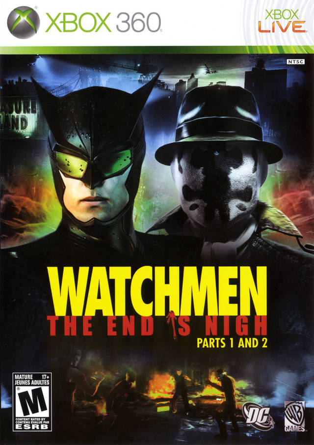 watchmen  the end is nigh part 2 windows  x360  ps3 game