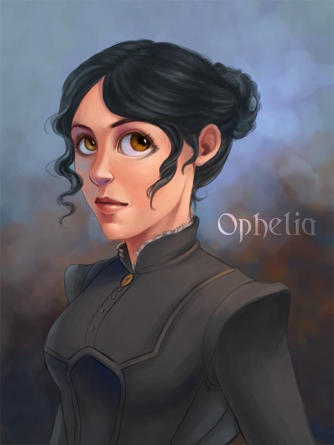how does ophelia die