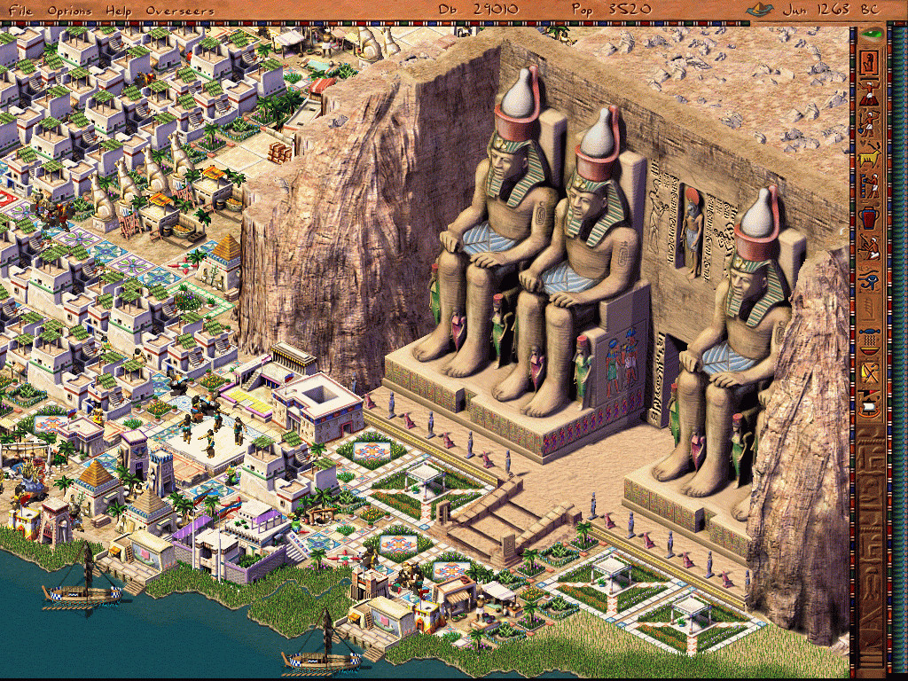 pharaoh cleopatra game mods