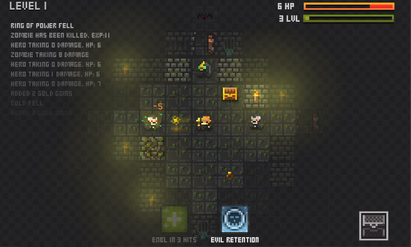 Hell, The Dungeon Again! Windows, Mac, iOS, iPad, Android, AndroidTab game