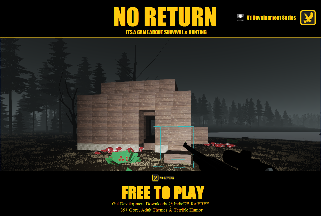 no return block building survival bases image mod db. Black Bedroom Furniture Sets. Home Design Ideas