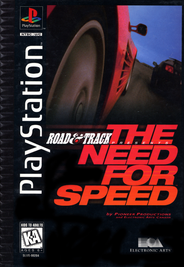 The Need For Speed DOS PS1 Game
