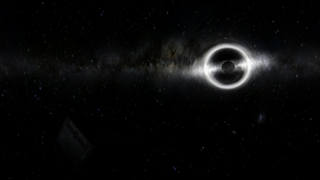 gravitational lensing of a black hole - photo #1