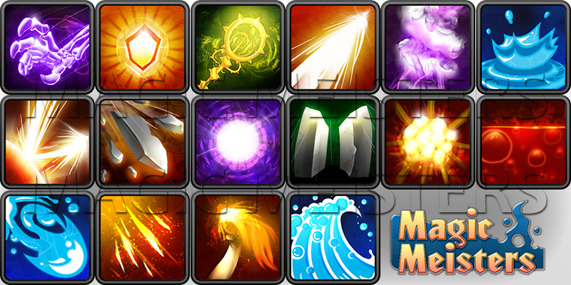 Spell Icons image - Magic Meisters - Mod DB