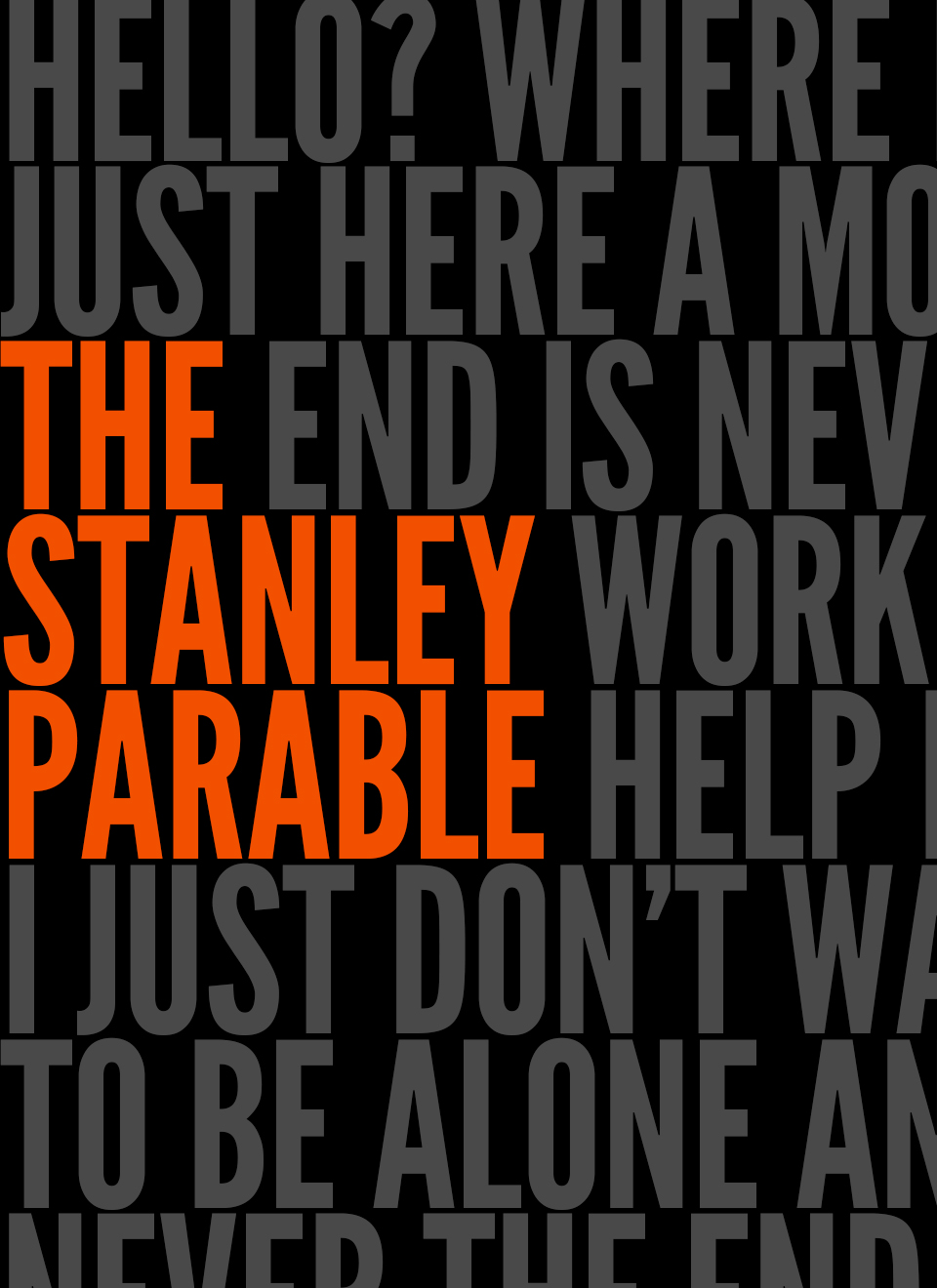 go outside stanley parable
